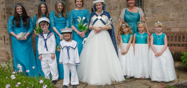2014 the crowning of Miss Ailsa Landels, the 70th EHQ