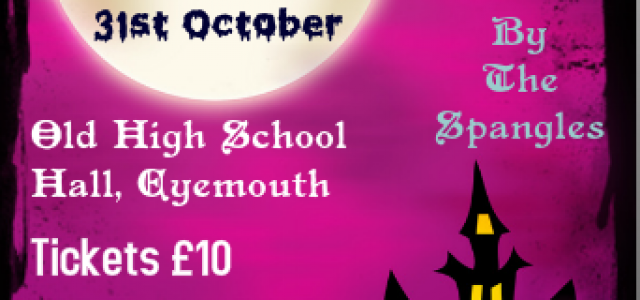 EHQ Halloween Fundraiser 31st October 2015…..8pm